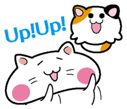Life of pretty cat Toromi and  Kyubee. sticker #384902
