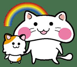 Life of pretty cat Toromi and  Kyubee. sticker #384903
