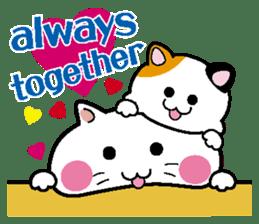 Life of pretty cat Toromi and  Kyubee. sticker #384904