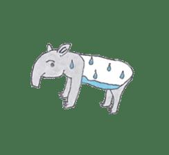 baku baku sticker #385782