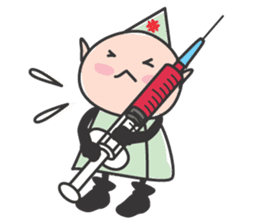 Elf Hospital sticker #385785