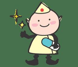 Elf Hospital sticker #385789