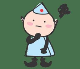 Elf Hospital sticker #385797