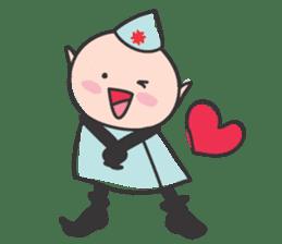 Elf Hospital sticker #385811