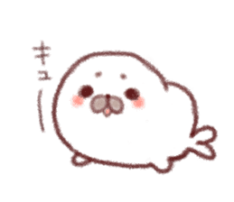Lovely seals!! sticker #385985