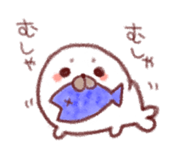 Lovely seals!! sticker #385989