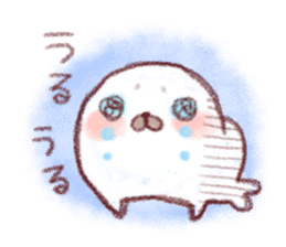 Lovely seals!! sticker #385998