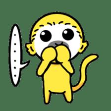 banana daisuki risuzaru kun sticker #387074