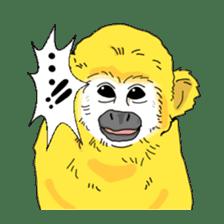 banana daisuki risuzaru kun sticker #387091