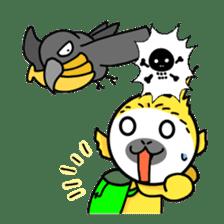 banana daisuki risuzaru kun sticker #387094