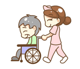 Daily life of Nurse sticker #387227