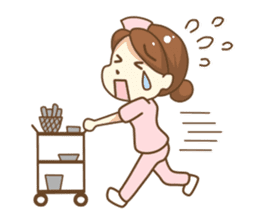 Daily life of Nurse sticker #387230