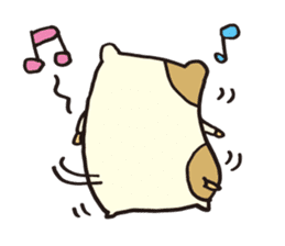 hamu emon sticker #387394