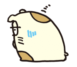 hamu emon sticker #387415