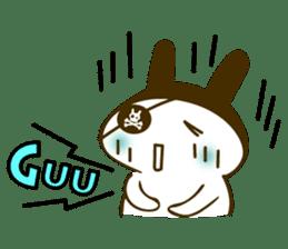 Rabbit Pirates sticker #387752