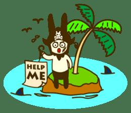 Rabbit Pirates sticker #387757
