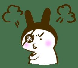 Rabbit Pirates sticker #387765