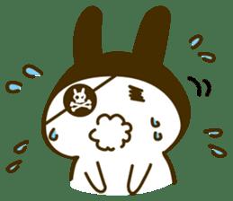Rabbit Pirates sticker #387769