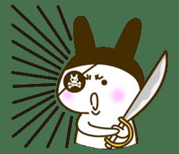Rabbit Pirates sticker #387771