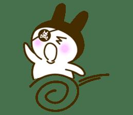 Rabbit Pirates sticker #387781