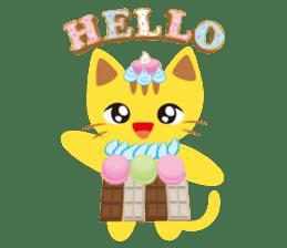 Dessert Cats sticker #388185