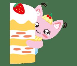 Dessert Cats sticker #388189