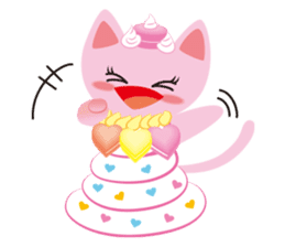 Dessert Cats sticker #388191