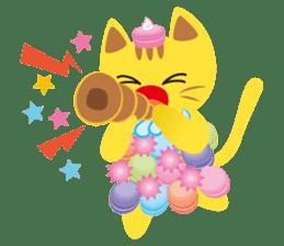 Dessert Cats sticker #388195