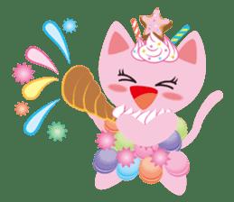 Dessert Cats sticker #388196