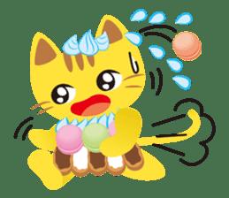 Dessert Cats sticker #388202