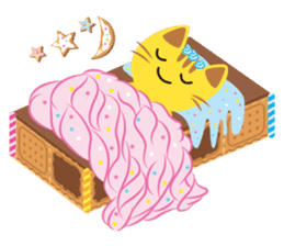 Dessert Cats sticker #388204