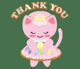 Dessert Cats sticker #388205