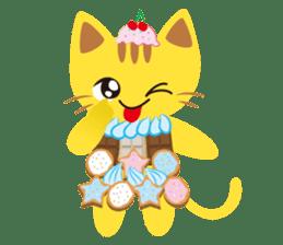 Dessert Cats sticker #388210