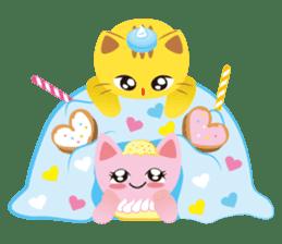 Dessert Cats sticker #388221