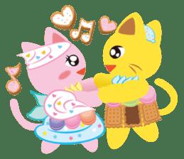 Dessert Cats sticker #388222