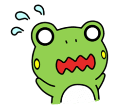 Tree Frog sticker #388229
