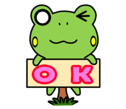 Tree Frog sticker #388231