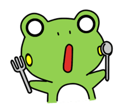 Tree Frog sticker #388233