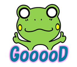 Tree Frog sticker #388236