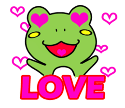 Tree Frog sticker #388239