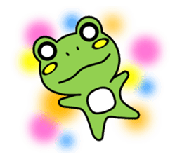 Tree Frog sticker #388242
