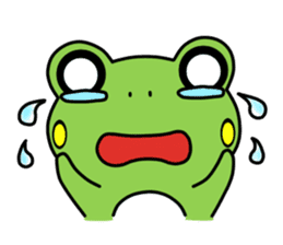 Tree Frog sticker #388249