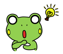 Tree Frog sticker #388250