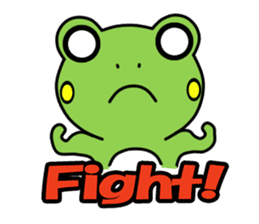 Tree Frog sticker #388260