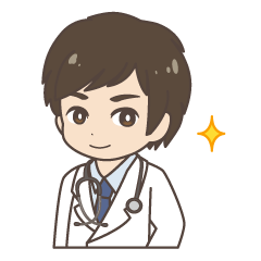 Daily life of a doctor. Japanese version
