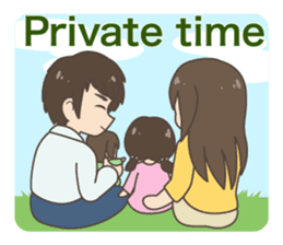 Daily life of a doctor. Japanese version sticker #389140