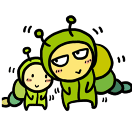 caterpillar brothers sticker #389462