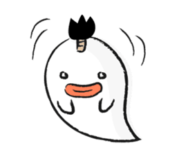 Chonmage Obake sticker #389947