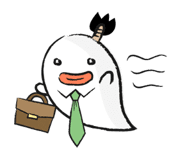 Chonmage Obake sticker #389950