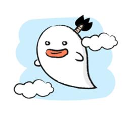 Chonmage Obake sticker #389952